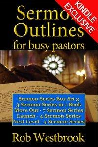 Sermon Outlines for Busy Pastors: Sermon Series Box Set 3