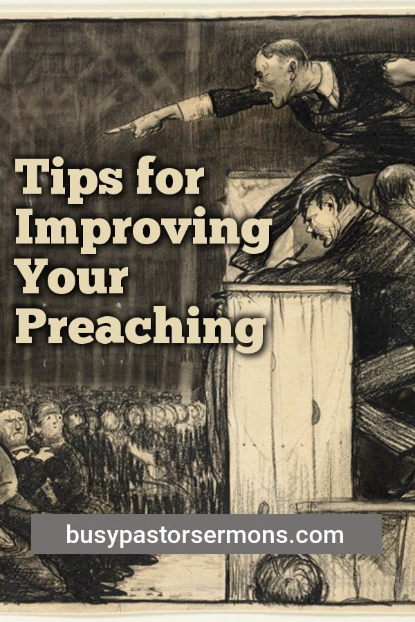 tips for improving your preaching