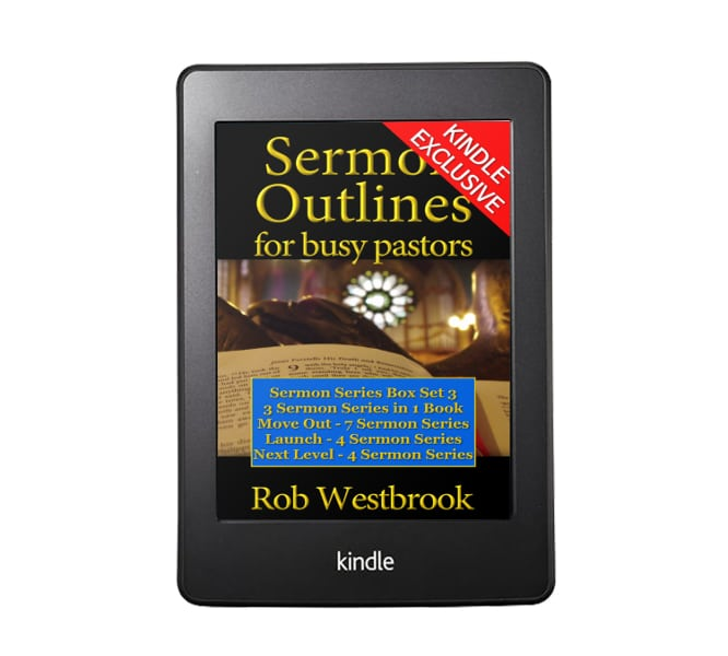 Sermon Outlines for Busy Pastors: Sermon Series Box Set 3