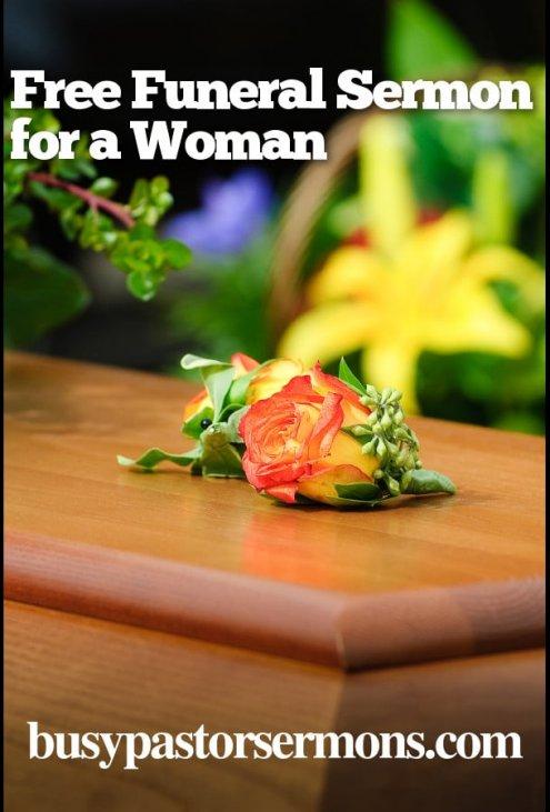 Free: Funeral Sermon for a Woman