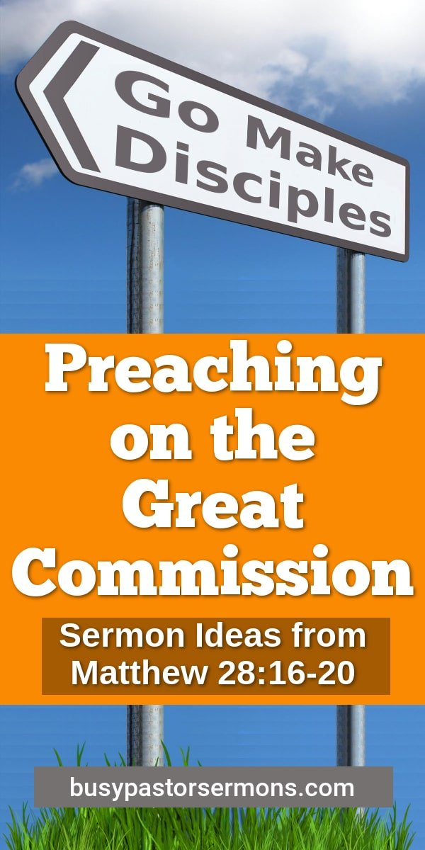 sermons on the great commission