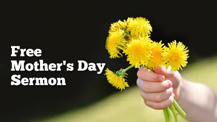 Free Mother's Day Sermon Outline – Sermon Outlines for Busy Pastors
